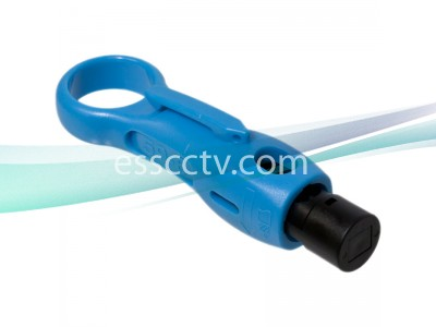 Cable Stripper for CCTV COAX Cables: RG58, RG59, RG6, Simple and Easy