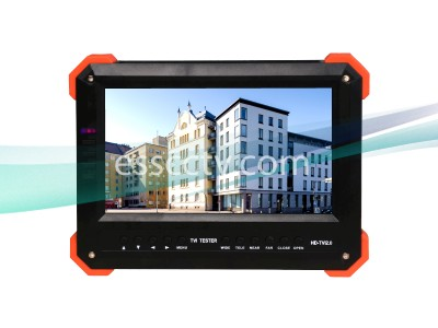 LTS HD-TVI Tester LCD, 7 inch monitor, HD 2MP 1080p resoution, HD-TVI, HDMI, VGA, analog CVBS input