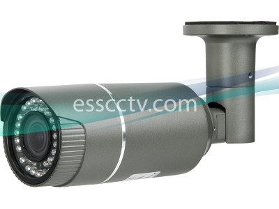 TIR-0412V HD-TVI 2MP Outdoor Bullet Camera, 2.8-12mm Megapixel Lens, 42 IR LED