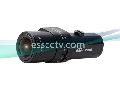 KT&C KPC-EW650NU Analog Cameras 750TVL, 0.1 Lux, True WDR, Digital Day/Night, DC12V