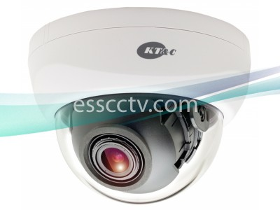 KT&C KPC-DNS102NUVW 750TVL 960H Indoor Day & Night Dome Camera, 3-Axis 2.8-12mm Verifocal Lens