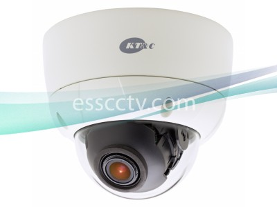 KT&C KPC-VDNS102NUV 750 TVL, 3-Axis, 2.8-12mm, IP66, Dual Voltage, Rugged Outdoor Dome