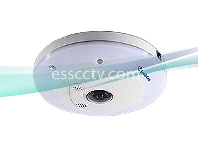 Geovision GV-FE5303 5MP Fisheye IR IP Camera 1.32mm H.264 WDR Pro IK10+ AC/DC/PoE