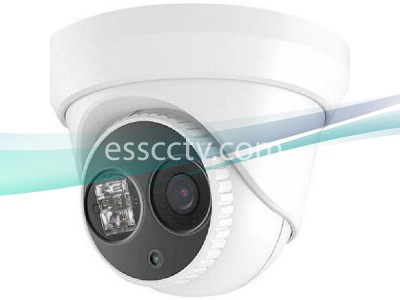 LTS CMIP1122-28 2.1 MP HD IP 1080P 2.8mm Wide Angle Matrix IR 100ft Security Outdoor Turret Dome Camera