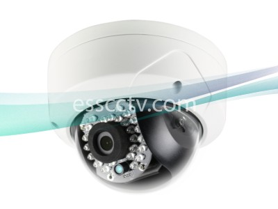 LTS CMIP7432-M 3.2MP HD 4mm Lens 30IR 100ft Micro SD Vandalproof IP Network Dome Camera