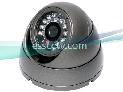 EYEMAX Eyeball Turret Type Dome IR camera: 470 TVL 60FT 25 IR LED, Vandal-Resistant