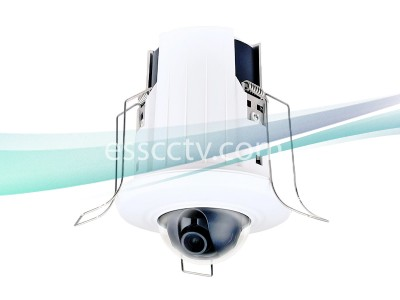 LTS CMIP7122 2.1MP HD 1080P 4mm Ceiling SD Card Slot Magnetic Snap-on Security Dome Camera