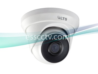 LTS CMHT17T2-28 HD TVI 3MP 2.8mm Wide Angle Lens 131ft 2 Matrix IR Turret Dome Camera