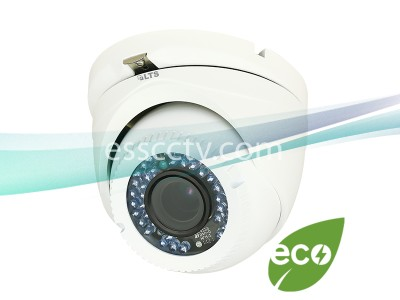 LTS CMHT1422-28 2.1MP HD-TVI Turret Dome Security Camera - 1080P HD, 2.8mm Fixed Lens, True WDR, IP66