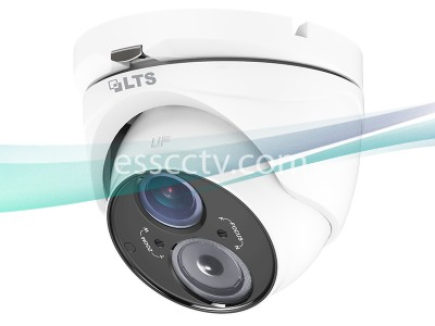 LTS CMHT1623A HD-TVI Turret Camera - 1080p HD, 2.8~12mm Varifocal Lens, WDR, IR up to 131ft, Weatherproof