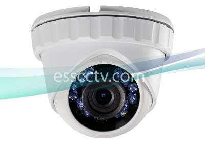 LTS CMHT2132-28 1.3MP HD-TVI Turret Camera - 2.8mm Fixed Lens, 720p HD, WDR, IR up to 65ft, Weatherproof