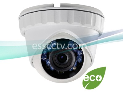 LTS CMHT2122 2.1MP HD-TVI Turret Security Camera - 3.6mm Fixed Lens, HD 1080p, IR up to 65ft, Weatherproof