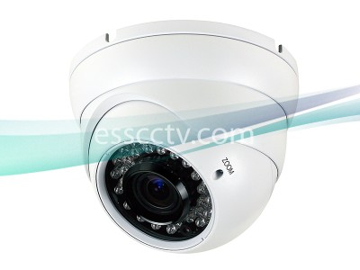 LTS CMHT2023R-A 2.1MP HD-TVI Turret Camera - 2.8~12mm Varifocal Lens, HD 1080p, True Day/Night, CVBS Output, Weatherproof