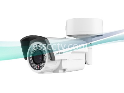 LTS CMHR9333 HD TVI 1.3MP 720P 2.8-12mm Varifocal Len 131ft IR Bullet Security Camera