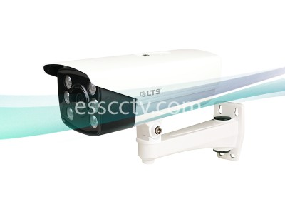 LTS LPR100 HD TVI 1.3MP 720P 6-22mm Mototrized Lens 131ft IR License Plate Bullet Camera