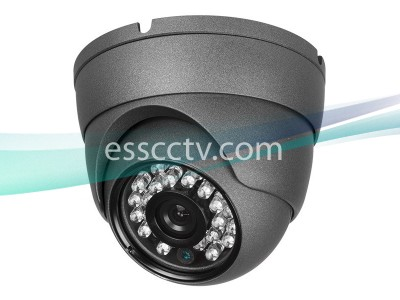 CA-TVI-IRD80-1080P HD-TVI Dome Camera with 3.6mm Fixed Lens, 98ft IR & Weatherproof