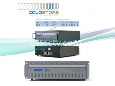 Veracity CSTORE-15-3U-D COLDSTORE CS15-3U-D with L.A.I.D and SFS Technology - 3U - No Drives