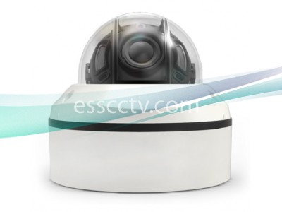NIT-P4662V-W31 Anti-IR Reflection Vandal-Resistant 4.2MP Outdoor IR Dome IP Camera with 3.3~10.5mm VF Lens & 6 COB IR