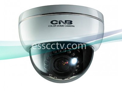 CNB LBM-24VF Dome IR Camera, MONALISA 600 TVL, 3.8~9.5mm Lens, 20 LEDs