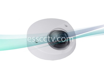 SavvyTech HCC5220F-IR/36 2MP HD-CVI 3.6mm Fixed Lens Wedge Dome Camera, Built-in Mic