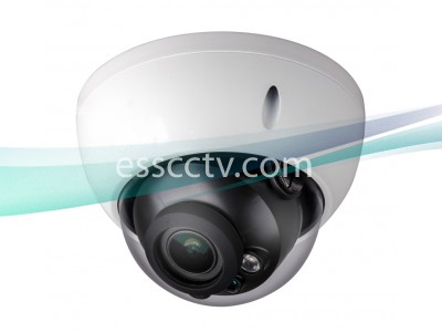 SavvyTech HCC5220R-IR-Z 2MP HD-CVI Motorized Lens Wedge Dome Camera, Built-in Mic