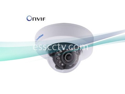 Geovision GV-EFD2100-2F 2MP 3.8mm Low Lux Target IR Dome DC-12V/PoE