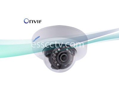 Geovision GV-EFD4700-0F 4MP 2.8mm Low Lux Target IR Dome DC-12V/PoE