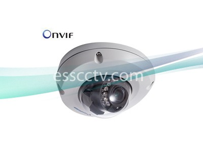 Geovision GV-EDR2100-0F 2MP IR MRF IP Dome 2.8 mm H.264 Low Lux WDR 12V-DC/PoE 30 FPS
