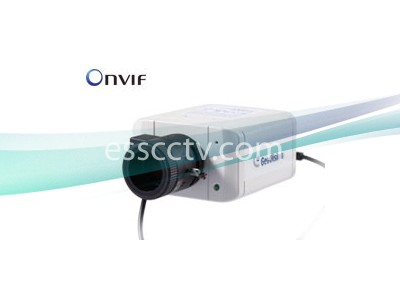 Geovision GV-BX3400-3V 3MP IP Box Camera 3~10.5mm H.264 WDR-PRO Day and Night, Onvif