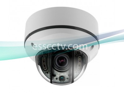 IP Power NIT-P4542V-W Anti-IR Reflection 4MP STORM® IR Dome IP Network Camera w/ 4 COB IR & Vari-focal Lens