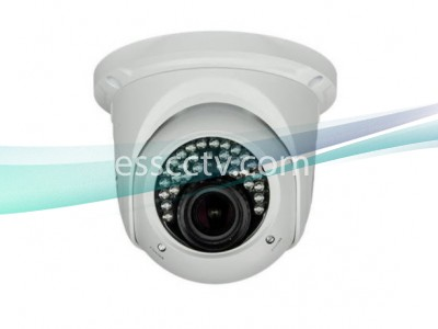 IP Power NIB-C332FV-W 3 MP IP Eyeball IR Dome Camera w/ 30 IR LEDs & 2.8~12mm Vari-focal Lens