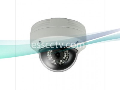 IP Power NIT-C322F-W 3 MP IP IR Dome Camera w/ 24 IR LEDs & 3.6mm Fixed Lens