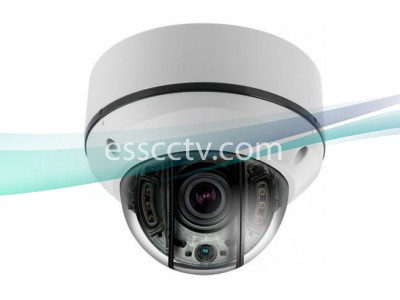 EYEMAX UVI-M2562V-W EX-SDI 1080p(2MP) STORM® IR Dome Camera w/ 6 COB IR & Motorized 2.8~12mm Lens