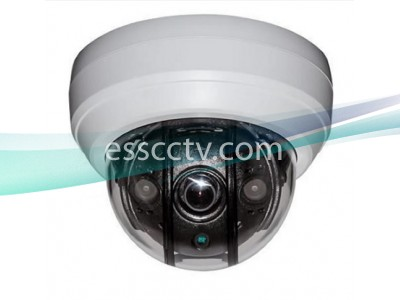 UMI-2522-36 EX-SDI 1080p Anti-IR Reflection Outdoor Dome Camera w/ 2 COB IR & 3.6mm Fixed Lens