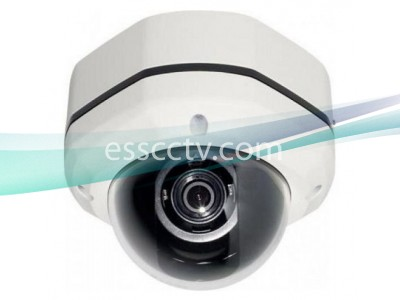 XHM-202 HD-SDI Outdoor Dome camera: 1080p image, 3.7mm Fixed Lens, Vandal-Resistant