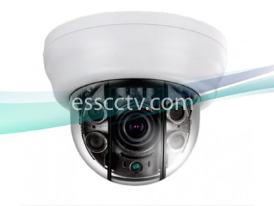 EYEMAX XDR-2544V Anti-IR Reflection Series HD-SDI 1080p SUPERDOME® IR Dome Camera w/ 2.8~12mm AVF Lens & Dual Power