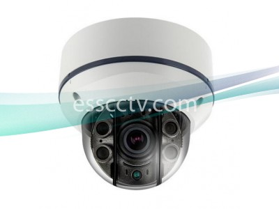 EYEMAX XVI-2542V-W Anti-IR Reflection Series HD-SDI 1080p IP68 STORM® IR Dome Camera w/ 2.8~12mm AVF Lens