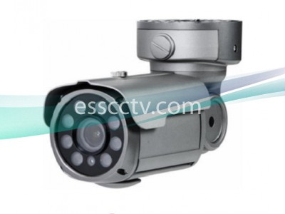 EYEMAX XIR-2342FV-B HD-SDI 1080p(2MP) IR Bullet Camera w/ 8 COB IR & 2.8~12mm Lens