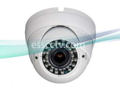 TIB-0032V HD-TVI 1080p(2MP) Eyeball Camera w/ Auto-Iris VF Lens & 35 IR LED