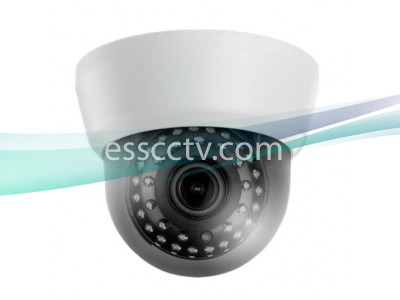 TID-B3032V HD-TVI 3.2MP IR Indoor Dome Camera w/ 2.8~12mm VF Lens & 35 IR LED