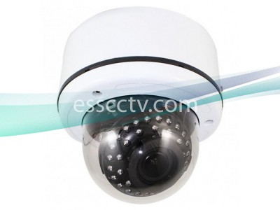TIV-B3032V HD-TVI 3MP 1080p Outdoor Dome Camera, 2.8-12mm VF Lens, 35 IR LED