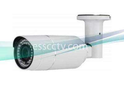 TIR-1412V HD-TVI 1080p(2MP) IR Bullet Camera w/ Auto-Iris VF Lens & 42 IR LED