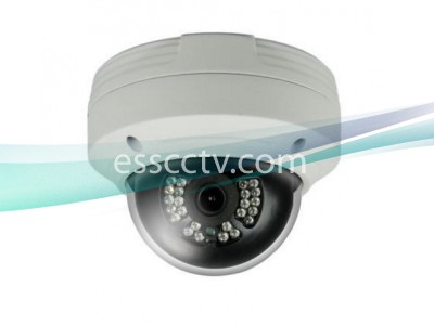 TIT-C222F-W HD-TVI 1080p(2MP) IR Dome Camera w/ 24 IR & 3.6mm Fixed Lens