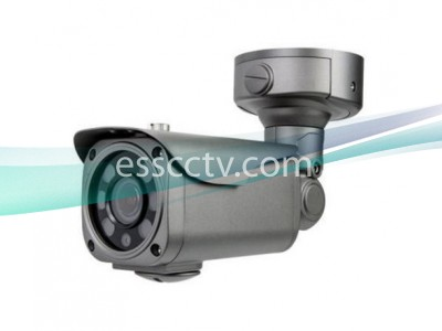 EYEMAX TIR-2662V-B HD-TVI 1080p HD Bullet Camera w/ 6 High Power IR & AVF Lens