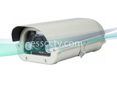 TLP-1322V-W HD-TVI 1080p(2MP) License Plate Capture Camera in Weather-proof Housing with white LED Light