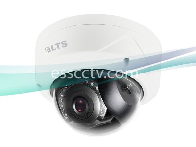 LTS CMIP7422N-28M 2MP IP Outdoor Dome Camera with 2.8mm Lens and 12 IR LEDs