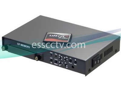 EYEMAX Mobile DVR 4ch Video 120 FPS Real-Time MJPEG Recording on CF Card, RCA Connection