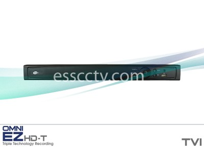 KT&C EZHD-TVL4 OMNI EZ HD-TVI System 4ch 1080p DVR, compatible with HD and SD Analog cameras