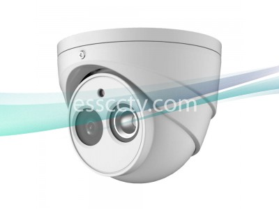 Eyemax 4MP H.265+ IR Network Turret Camera with 2.8mm Lens / True WDR / IVS / Built-in Microphone
