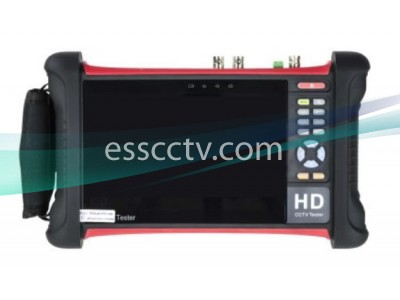 7 INCH TESTER MONITOR for 5MPTVI / 4MPCVI / 4MP / AHD IP ANALOG / HD SDI / EX SDI Test